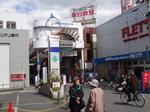 こちらの商店街はほぼ当時のまま。
