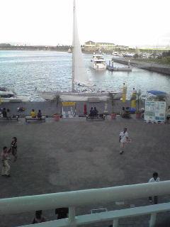 ラグーナ蒲郡、海を一望出来ます♪