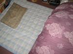 今日からフカフカな布団で眠れます♪